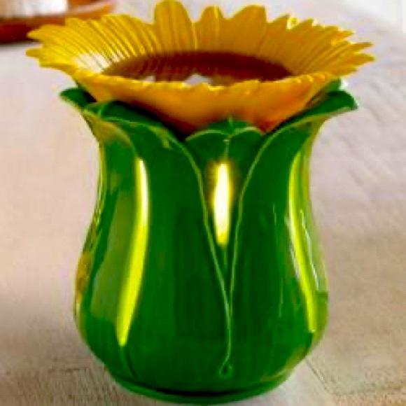 Partylite Sunflower Scentsy Warmer